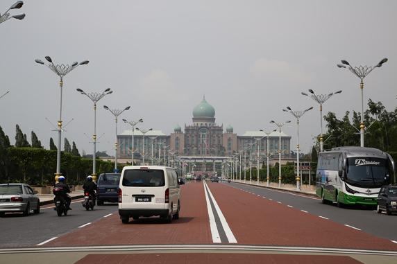 道, 自動車, 輸送, 通り, 車, マレーシア