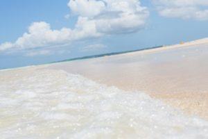 マレーシアの砂浜