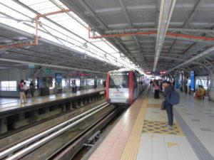 マレーシアの電車