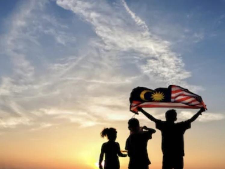 マレーシアの人々 国旗