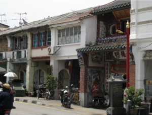 マレーシアのアパート