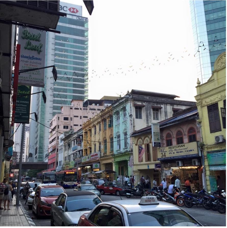 マレーシア インド街