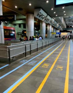 マレーシアバス乗り場