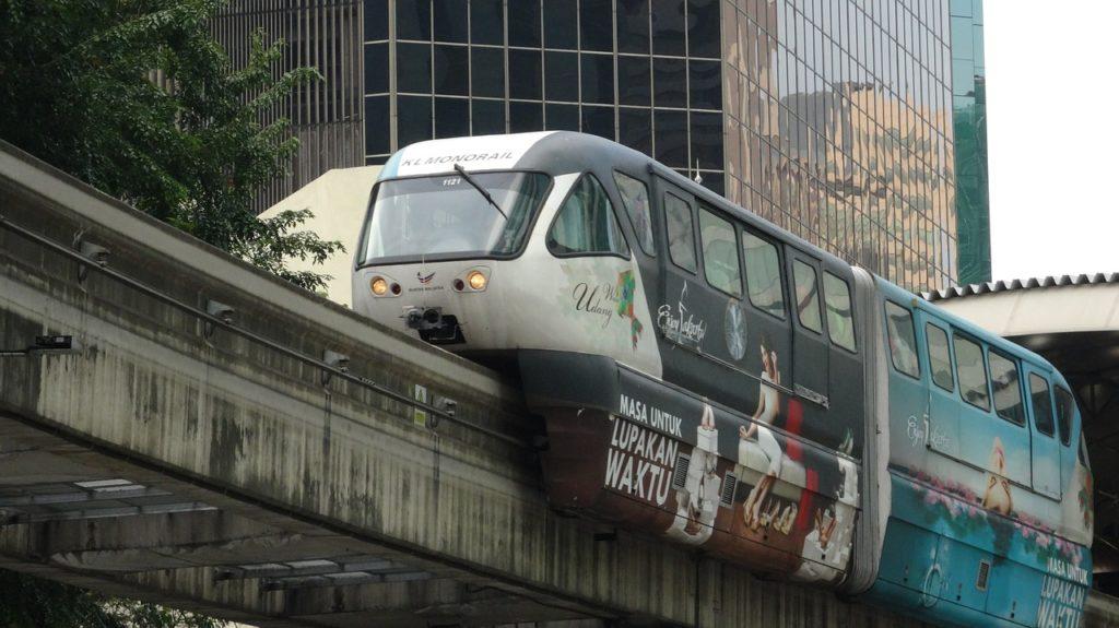 マレーシア KLモノレール