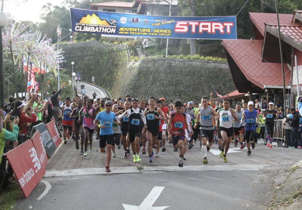 キナバル山マラソン