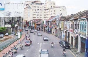マレーシア クアラルンプールの街なみ